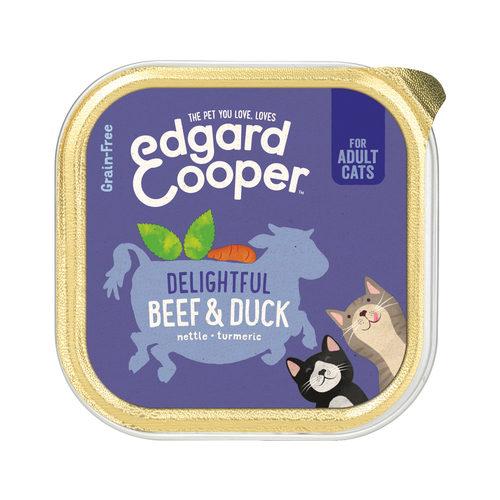 Edgard & Cooper Adult Cat - Rund & Eend - Kuipje