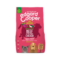 Edgard & Cooper Biologique Adulte - Bœuf & Poulet