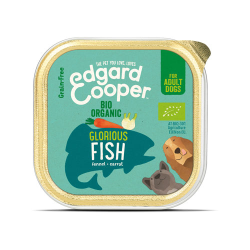 Edgard & Cooper Biologisch Adult - Vis - Kuipje
