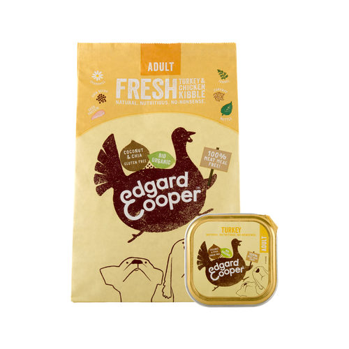 Edgard & Cooper Adult Dog Bio Truthahn