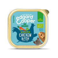 Edgard & Cooper Organic Puppy - Chicken & Fish - Alutrays