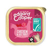 Edgard & Cooper Kitten - Chicken & Trout - Tub