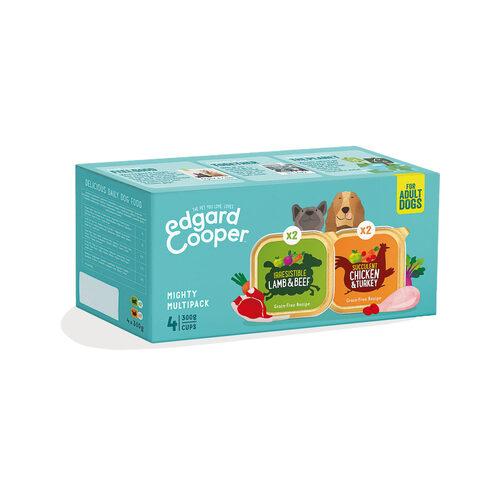 Edgard & Cooper Multipack Hondenvoer - Kuipje - Kip & Lam