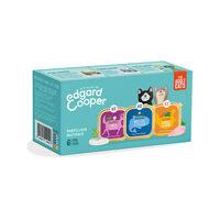 Edgard & Cooper Multipack Kattenvoer - Kuipje - Kabeljauw / Wild & Kalkoen