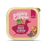 Edgard & Cooper Puppy - Ente & Huhn - Schälchen