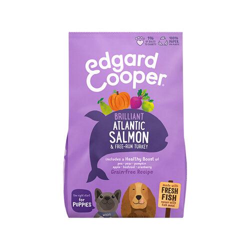 Edgard & Cooper Puppy - Zalm & Scharrelkalkoen