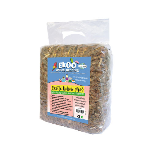 Ekoo Animal Bedding Exotic Kokosnuss grob