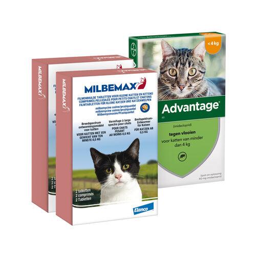 Elanco Preventiepakket Kitten 1 - 2 kg