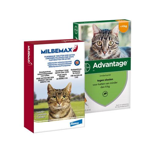 Elanco Preventiepakket Kitten 2 - 4 kg