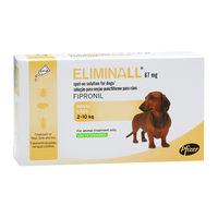 Eliminall Dog Spot-on 67 mg
