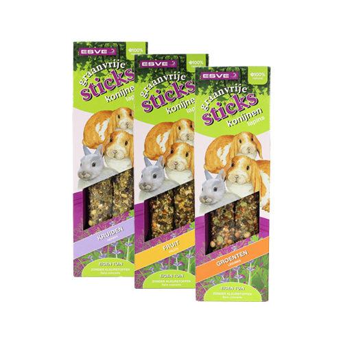 Esve getreidefreie Leckerlies für Kaninchen