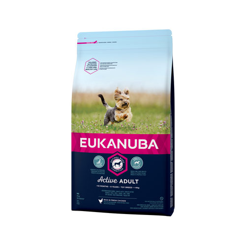 Eukanuba Dog - Active Adult - Toy Breed