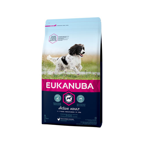 Eukanuba Dog – Active Adult – Medium Breed