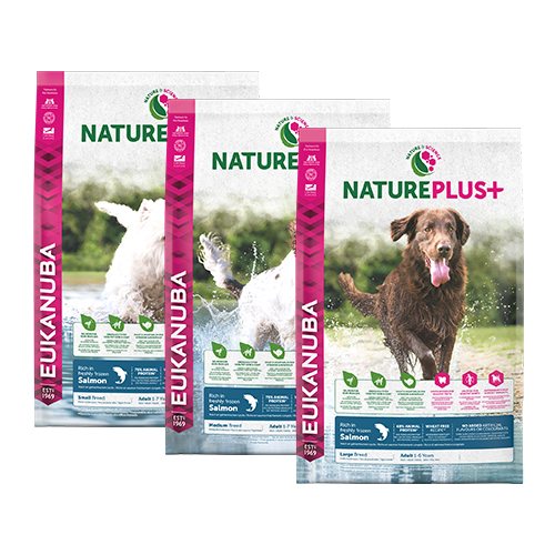 Eukanuba Nature Plus - Adult - Salmon
