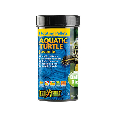Exo Terra Aquatic Turtle Juvenile Floating Pellets