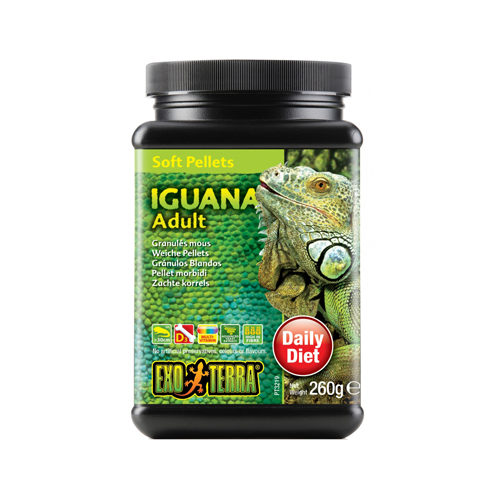 Exo Terra Iguana Food Adult Soft Pellets