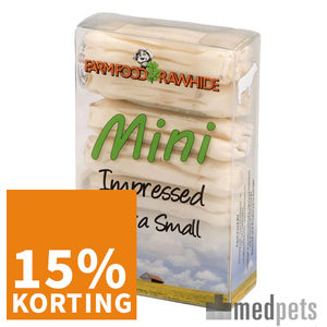 Product afbeelding van Farm Food Rawhide Dental Impressed Mini XS