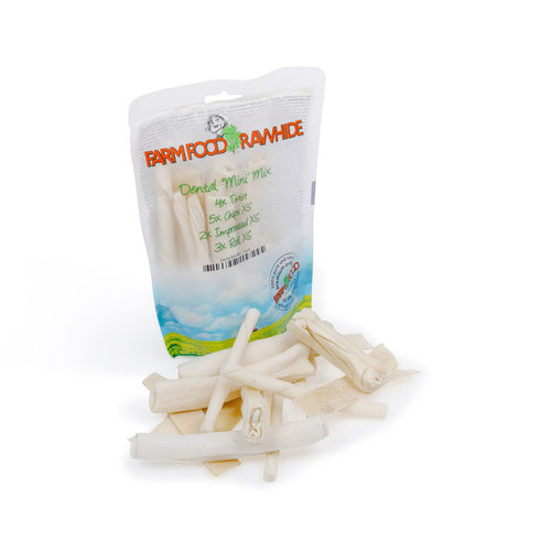 Farm Food Rawhide Dental Mini Mix