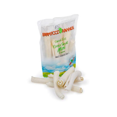Farm Food Rawhide Dental Roll Mini