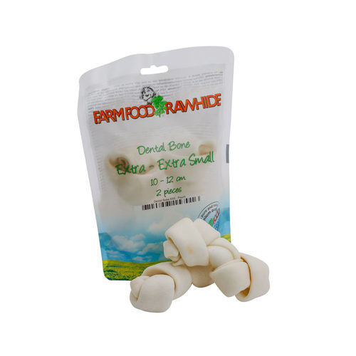 Farm Food Rawhide Snack Dental Bone