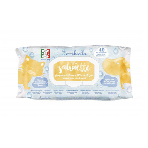 Ferribiella Wet Wipes Micellair Water - Argan Oil