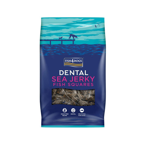 Fish4Dogs Dental - Sea Jerky Fish Squares