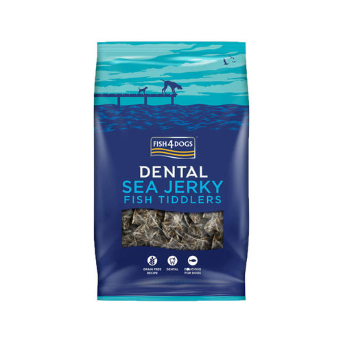 Fish4Dogs Dental - Sea Jerky Fish Tiddlers