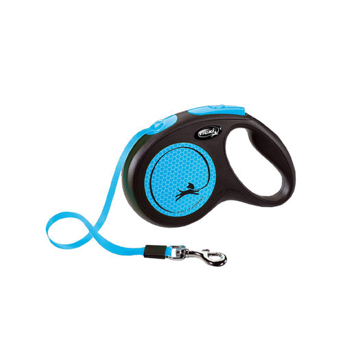 Flexi Rollijn New Neon - Blauw