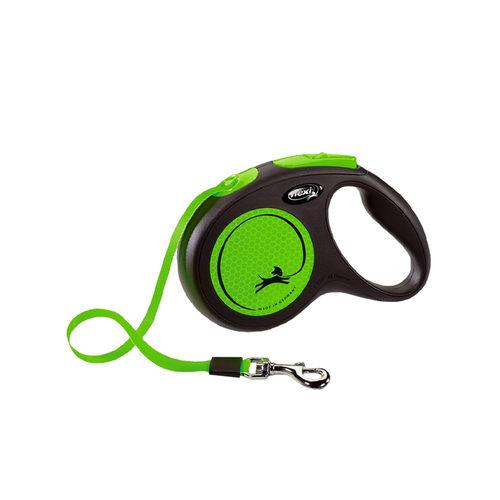 Flexi Rollleine New Neon - Grün