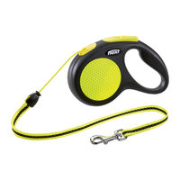 Flexi Cord Lead New Neon - Cord Leash