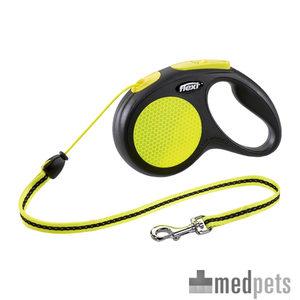 Image du produit Flexi New Neon - Laisse à Corde Rétractable pour Chien