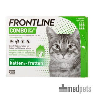 Product afbeelding van Frontline Combo Spot On Kat