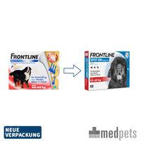 Frontline Spot On für Hunde