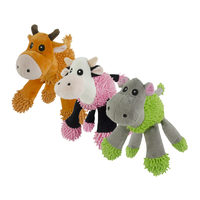 Fuzzle Cuddly Toys with 5 Squeakers