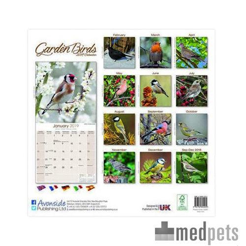Product afbeelding van Garden Bird Kalender 2019