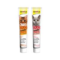 GimCat Anti-Hairball Duo-Paste - Pâte Anti-Boules de Poils pour Chats