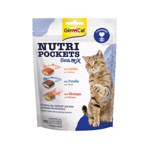 GimCat Nutri Pockets - Sea Mix