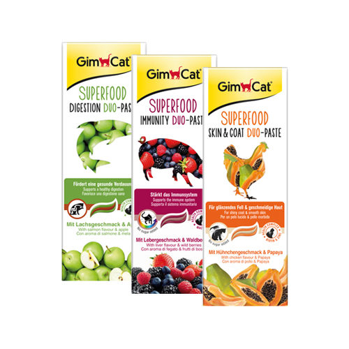 GimCat Superfood Duo-Paste