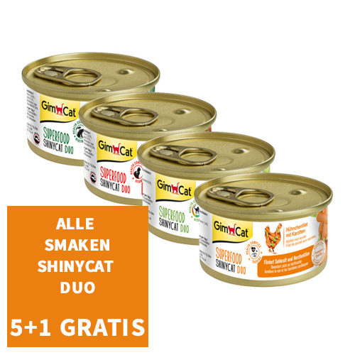 GimCat Superfood ShinyCat Duo
