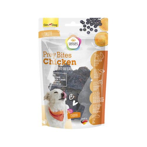 GimDog Senses Prey Bites Kip met Vlierbes en Zoete Aardappel