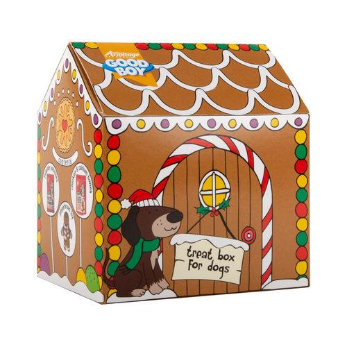 Good Boy Gingerbread House