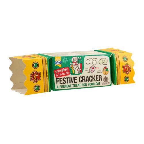 Good Girl Cat Festive Cracker