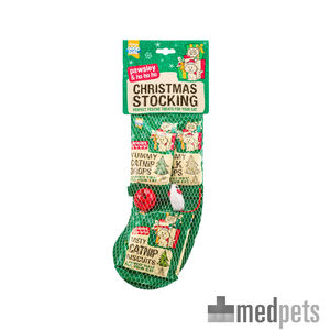 Product afbeelding van Good Girl Christmas Cat Stocking