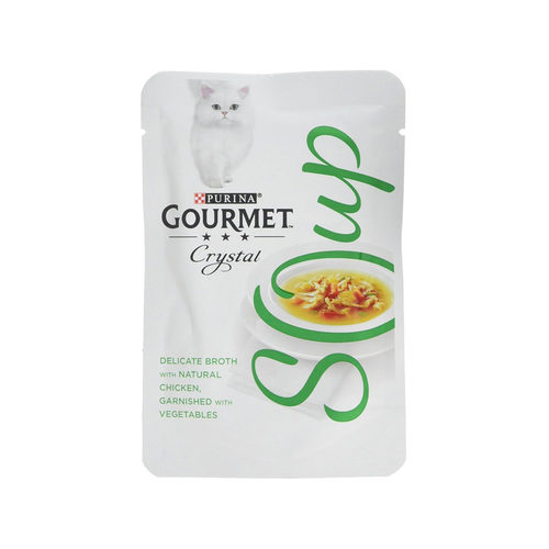 Purina Gourmet - Soup Kip & Groente