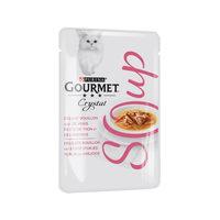 Purina Gourmet Crystal - Soupe au Thon & Anchois pour Chat