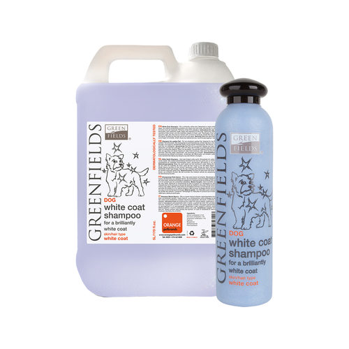 Greenfields White Coat Shampoo