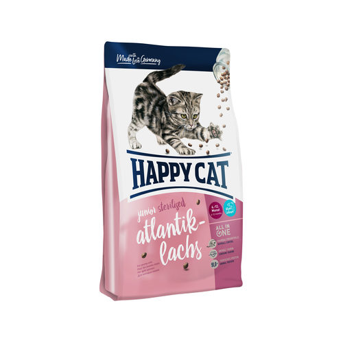 Happy Cat - Junior - Sterilised - Atlantik-Lachs (Zalm)
