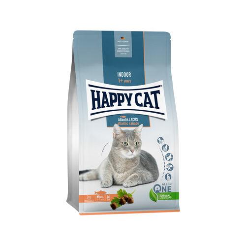 Happy Cat Indoor Kattenvoer - Zalm