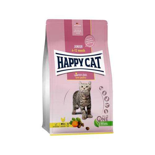 Happy Cat Junior Kattenvoer - Gevogelte