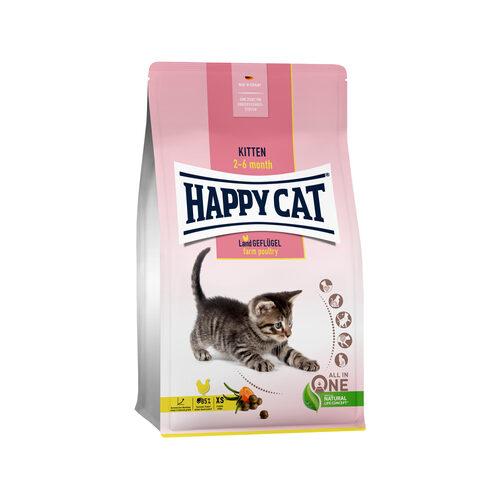 Happy Cat Kittenvoer - Gevogelte